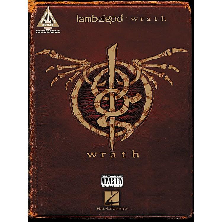 Hal LeonardLamb Of God - Wrath Guitar Tab Songbook