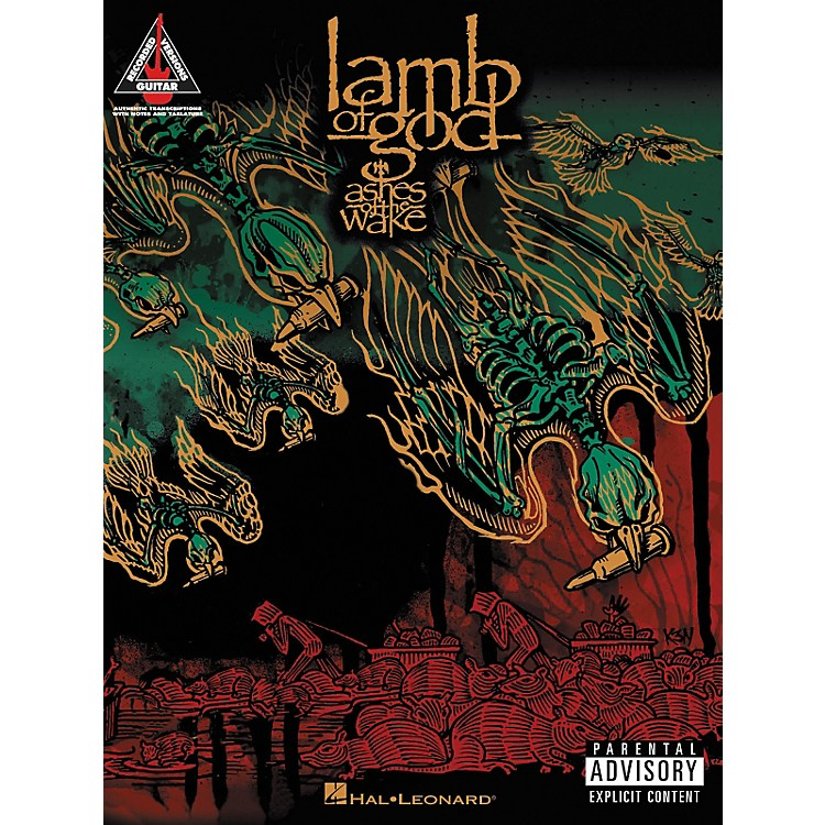 Hal Leonard Lamb of God Ashes of the Wake Guitar Tab Songbook