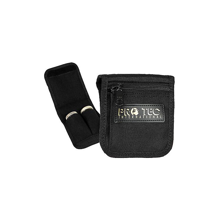 ProtecLarge Brass 2-Mouthpiece Belt Pouch