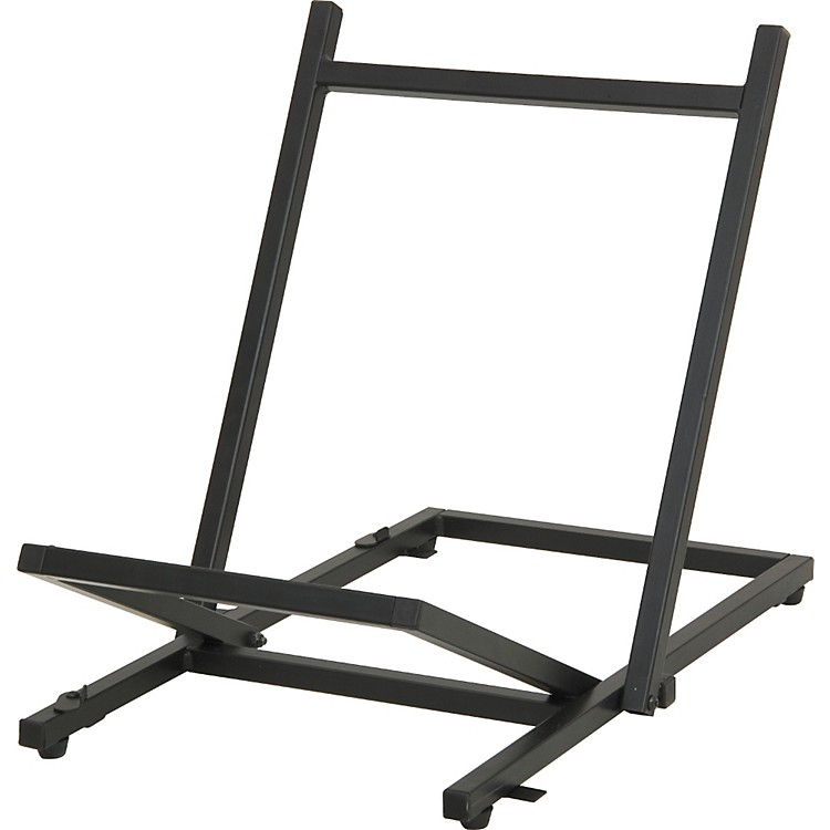 Musician's Gear Large Folding Tiltback Amp Stand Black