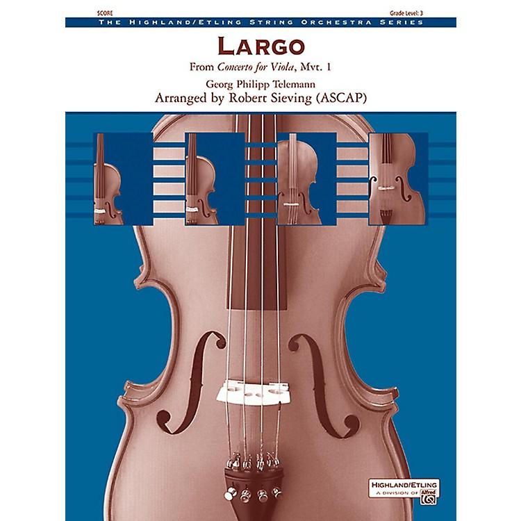 AlfredLargo String Orchestra Grade 3