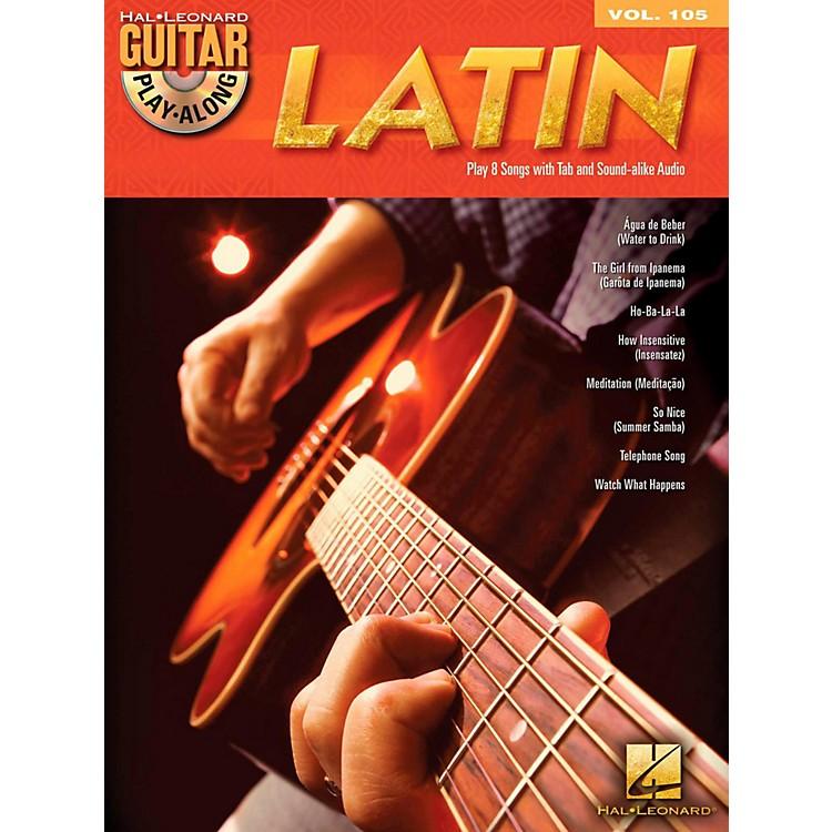 Hal LeonardLatin - Guitar Play-Along Volume 105 Book/CD