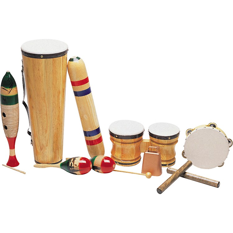 Rhythm Band Latin-American 8-Piece Junior Set