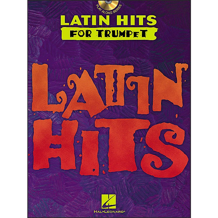 Hal Leonard Latin Hits for Trumpet Book/CD