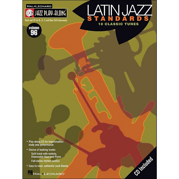 Hal Leonard Latin Jazz Standards - Jazz Play-Along Volume 96 (CD/Pkg)