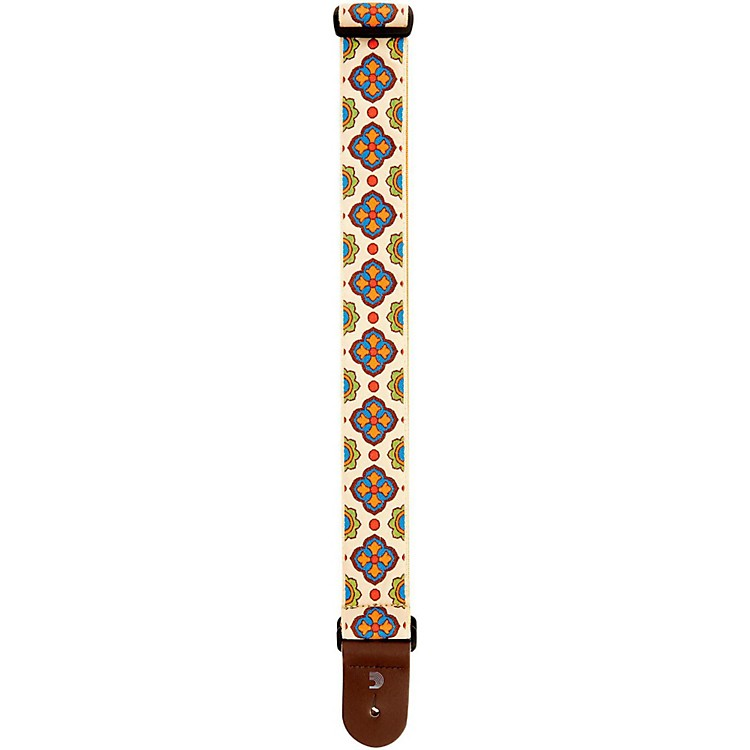 D'Addario Planet Waves Latin Line Art Guitar Strap Traditional