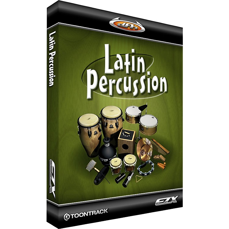 Toontrack Latin Percussion EZX Softwarel Download