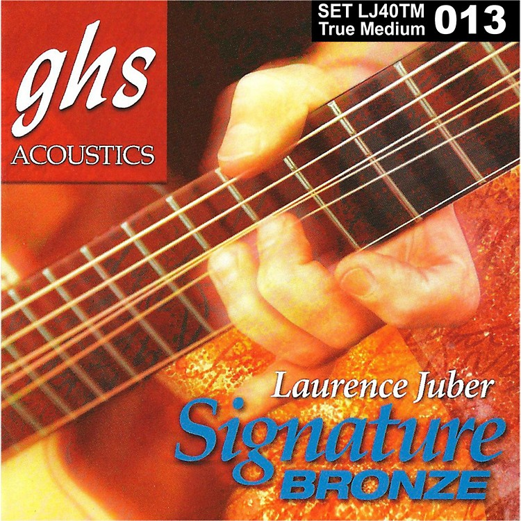 GHS Laurence Juber Signature Bronze True Medium Acoustic Guitar Strings
