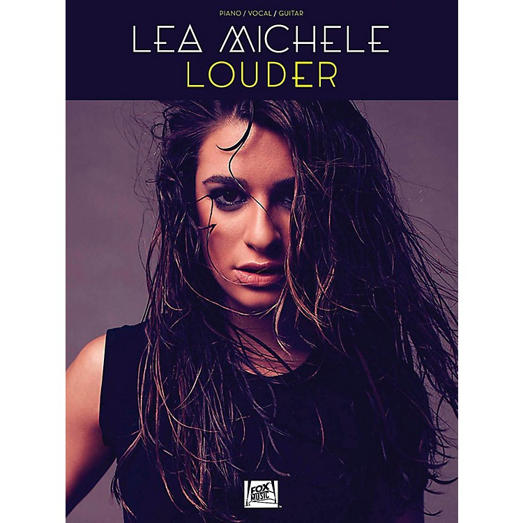 Hal Leonard Lea Michele - Louder for Piano/Vocal/Guitar