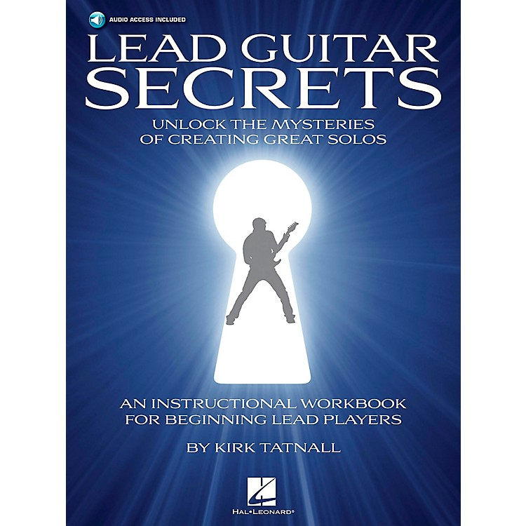 Hal Leonard Lead Guitar Secrets Short-Cuts To Playing Great Solos Book/CD