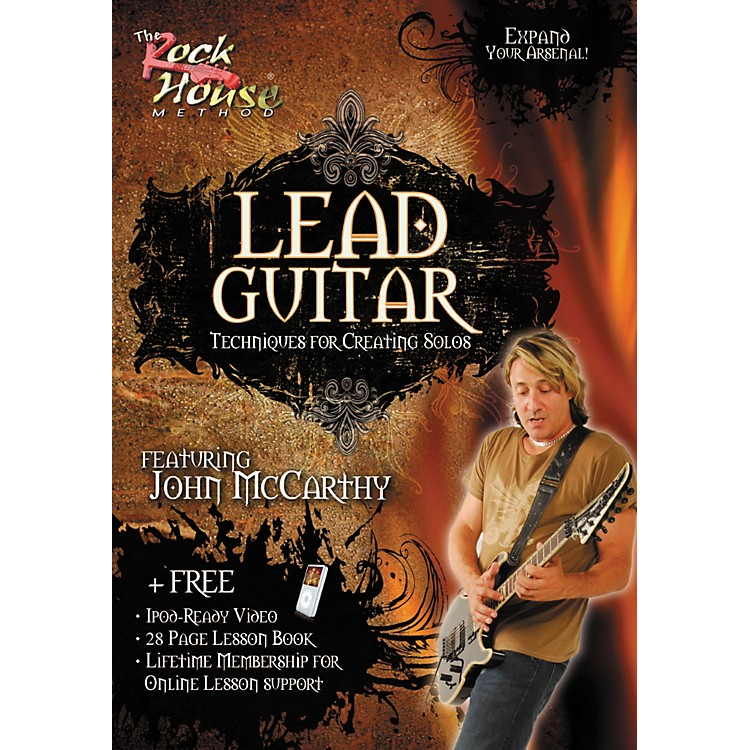 Rock HouseLead Guitar-Techniques for Creating Solos, Featuring John McCarthy (DVD)