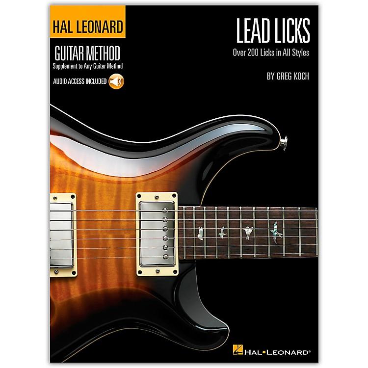 Hal LeonardLead Licks (Book/CD)