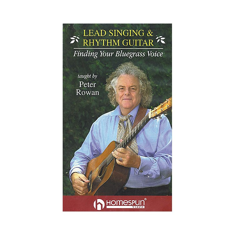Homespun Lead Singing and Rhythm Guitar - Finding Your Bluegrass Voice (VHS)