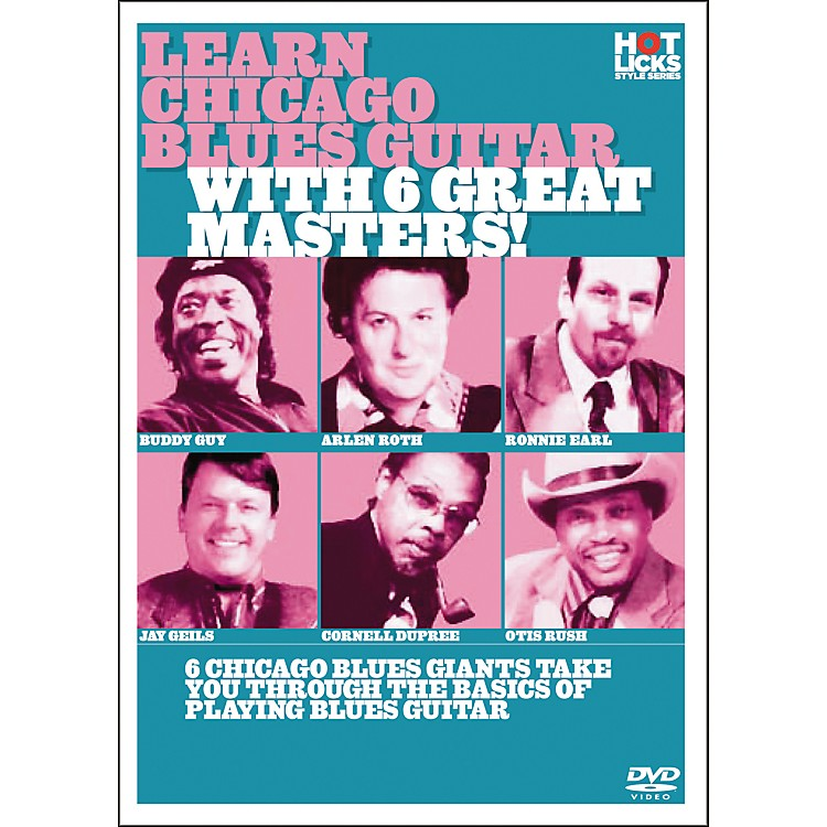 Hot LicksLearn Chicago Blues with 6 Great Masters DVD