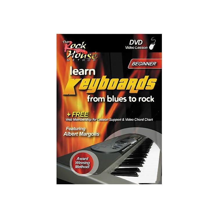 Rock HouseLearn Keyboards from Blues to Rock - Beginner (DVD)
