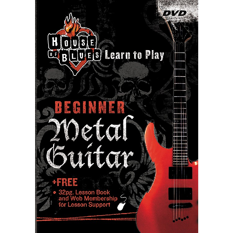 Rock House Learn Metal Guitar Beginner (DVD)