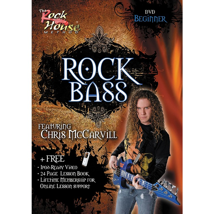 Hal Leonard Learn Rock Bass Beginner DVD