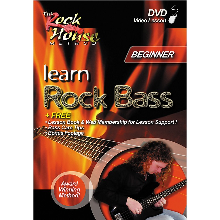Rock House Learn Rock Bass Beginner (DVD)