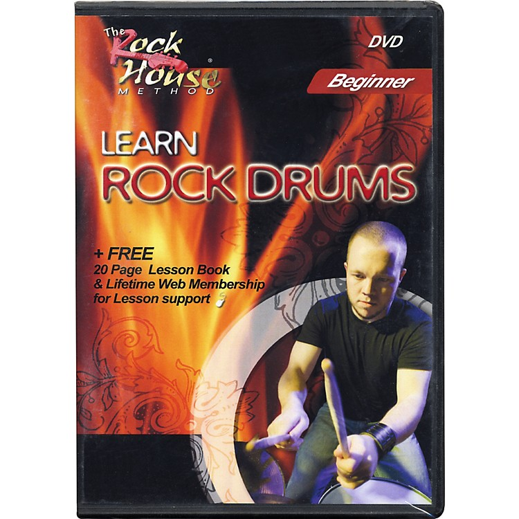 Rock House Learn Rock Drums Beginner Featuring Mark Manczuk