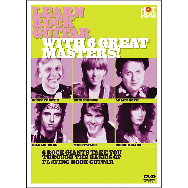 Hot LicksLearn Rock Guitar with 6 Great Masters DVD