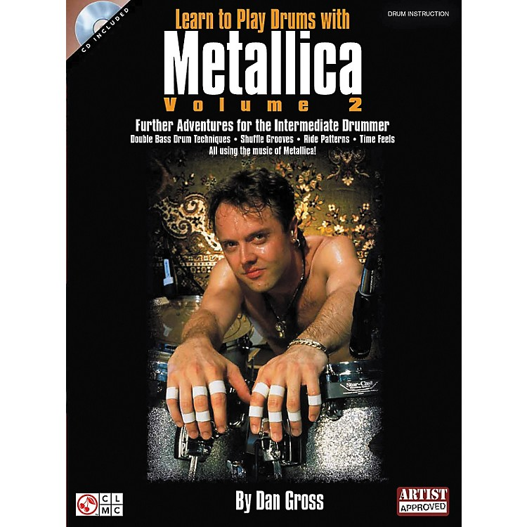 Hal LeonardLearn To Play Drums With Metallica Book and CD - Volume 2