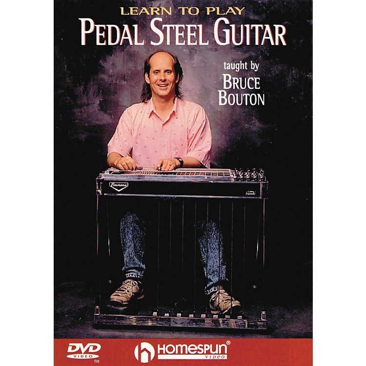 HomespunLearn To Play Pedal Steel Guitar (DVD)