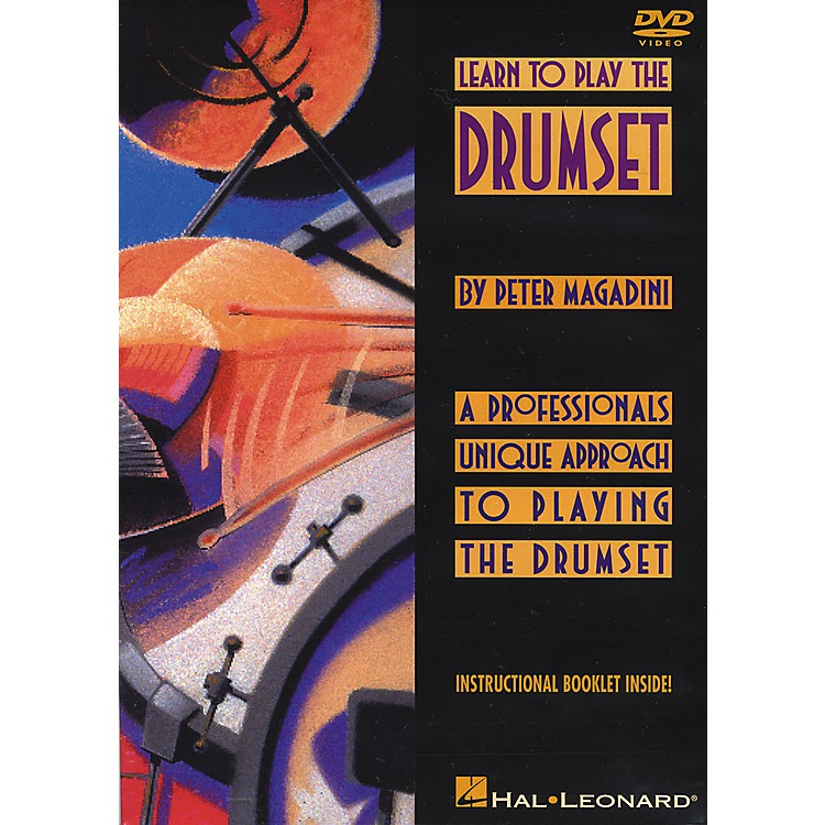 Hal Leonard Learn To Play The Drumset DVD