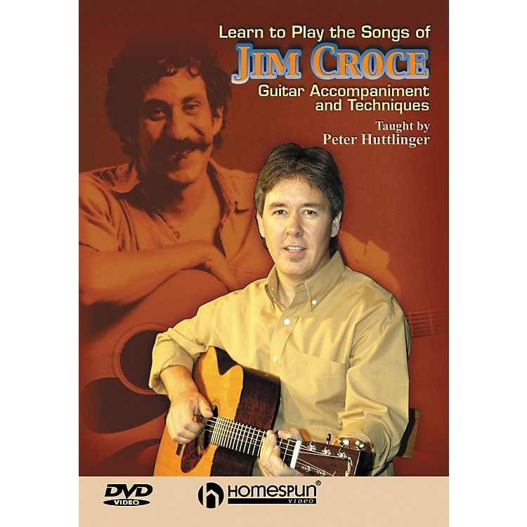 Homespun Learn To Play the Songs of Jim Croce on Guitar (DVD)