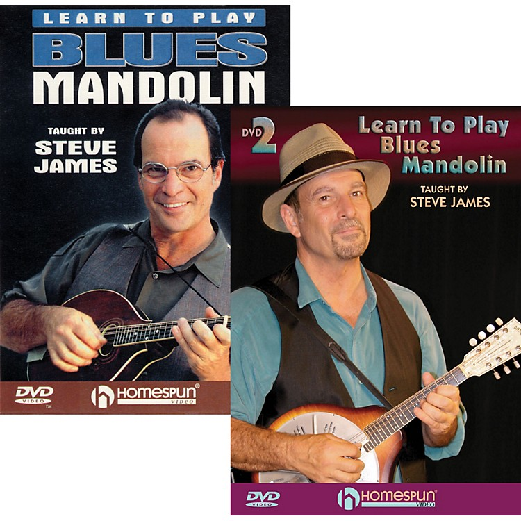 HomespunLearn to Play Blues Mandolin (2 DVDs)