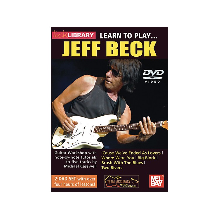 Hal LeonardLearn to Play Jeff Beck 2 DVD Set