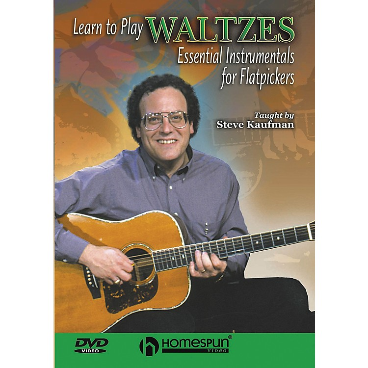 Homespun Learn to Play Waltzes (DVD)
