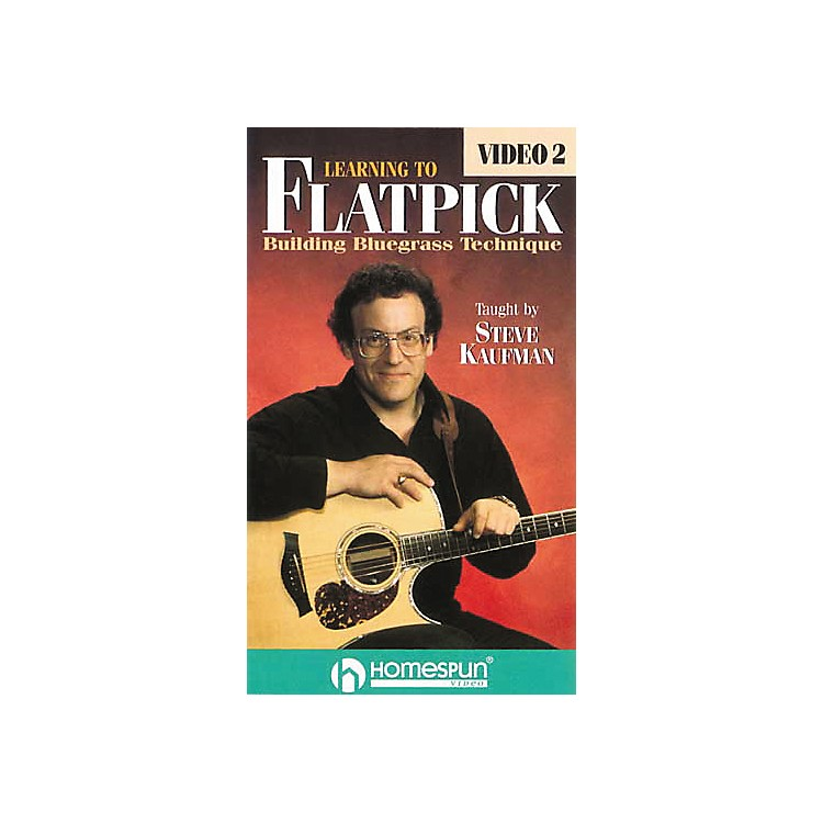 Homespun Learning to Flatpick 2 (VHS)
