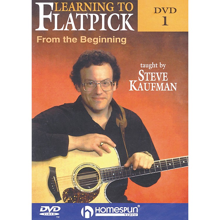 Homespun Learning to Flatpick From the Beginning DVD 1 with Tab