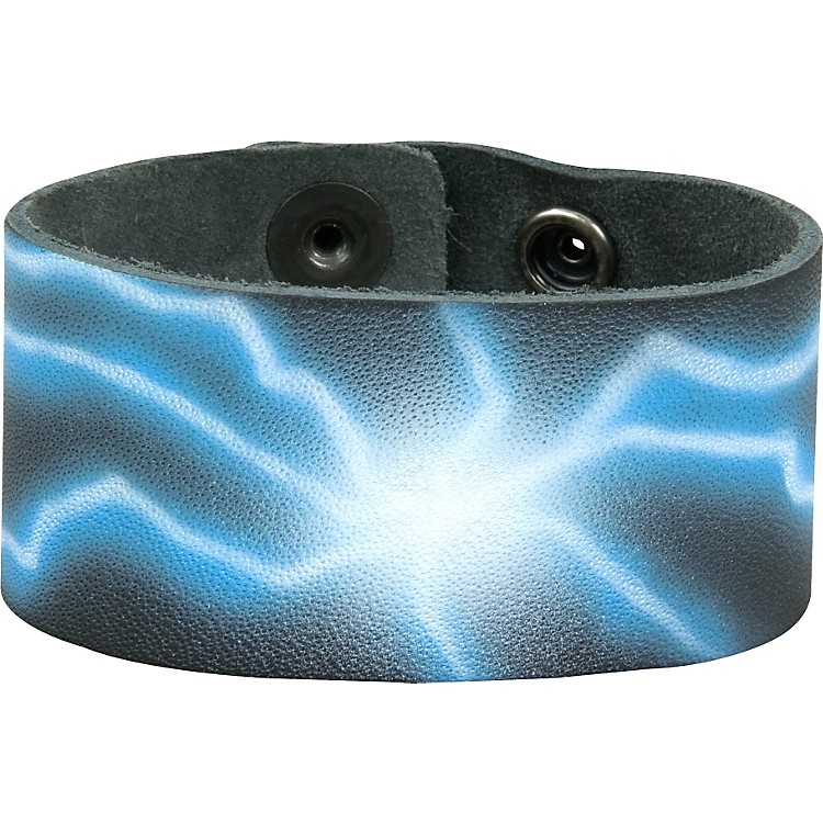 Perri'sLeather Bracelet with Airbrushed Design