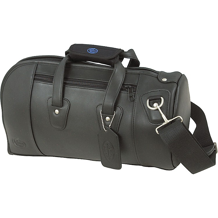 Reunion Blues Leather Cornet Bag Ebony