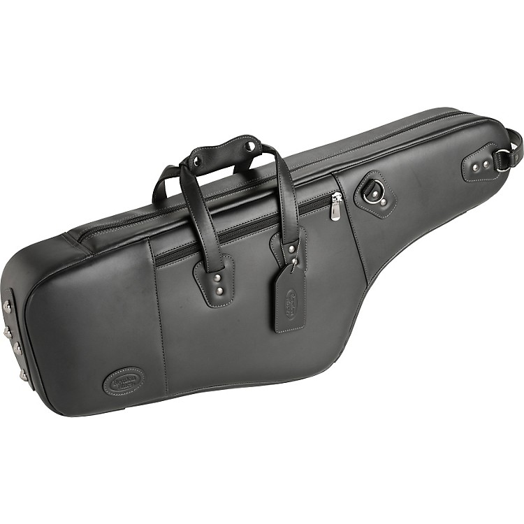 Reunion Blues Leather Tenor Saxophone Bag Black