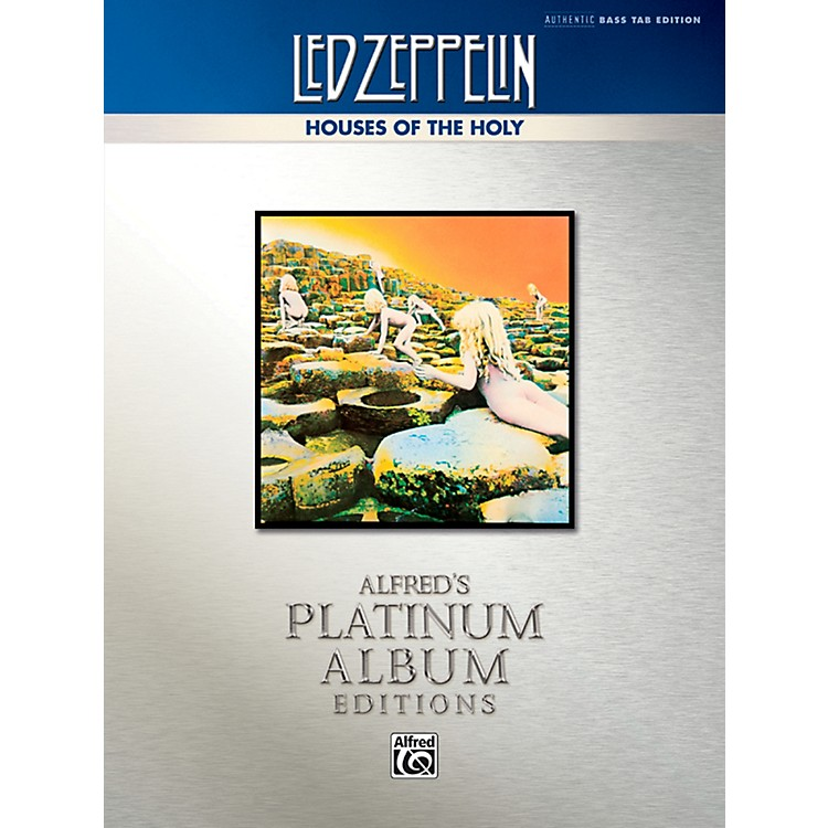 AlfredLed Zeppelin - Houses of the Holy Platinum Bass Guitar Book