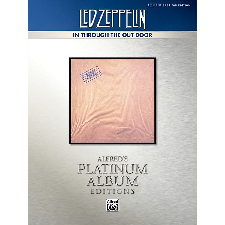 Alfred Led Zeppelin - In Through the Out Door Platinum Bass Guitar TAB Book