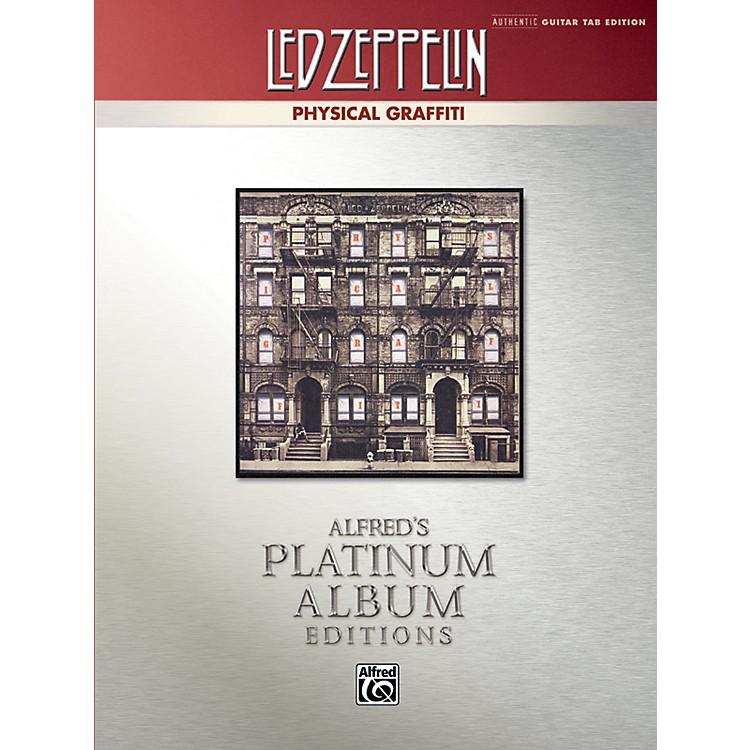 AlfredLed Zeppelin - Physical Graffiti Platinum Guitar TAB Book