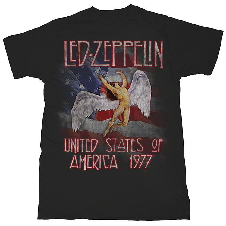 FEA MerchandisingLed Zeppelin -America 1977 T-Shirt
