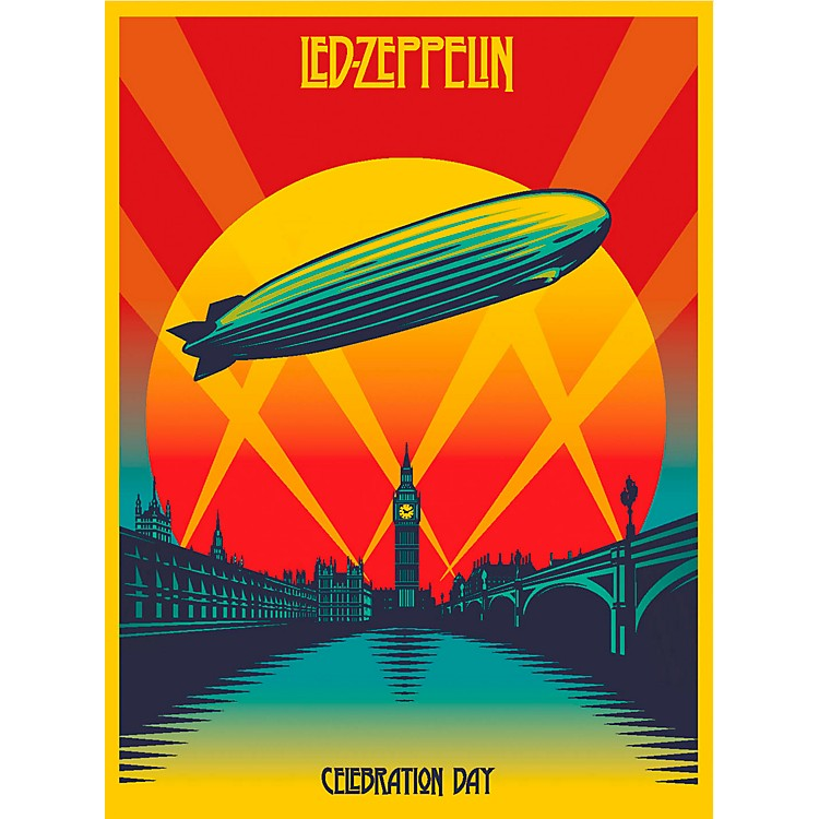 WEA Led Zeppelin Celebration Day (Deluxe 2-CD Set with Blu-Ray & DVD)