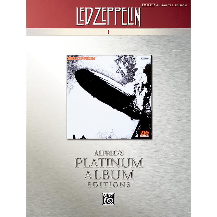 AlfredLed Zeppelin I Guitar Tab Platinum Edition Book