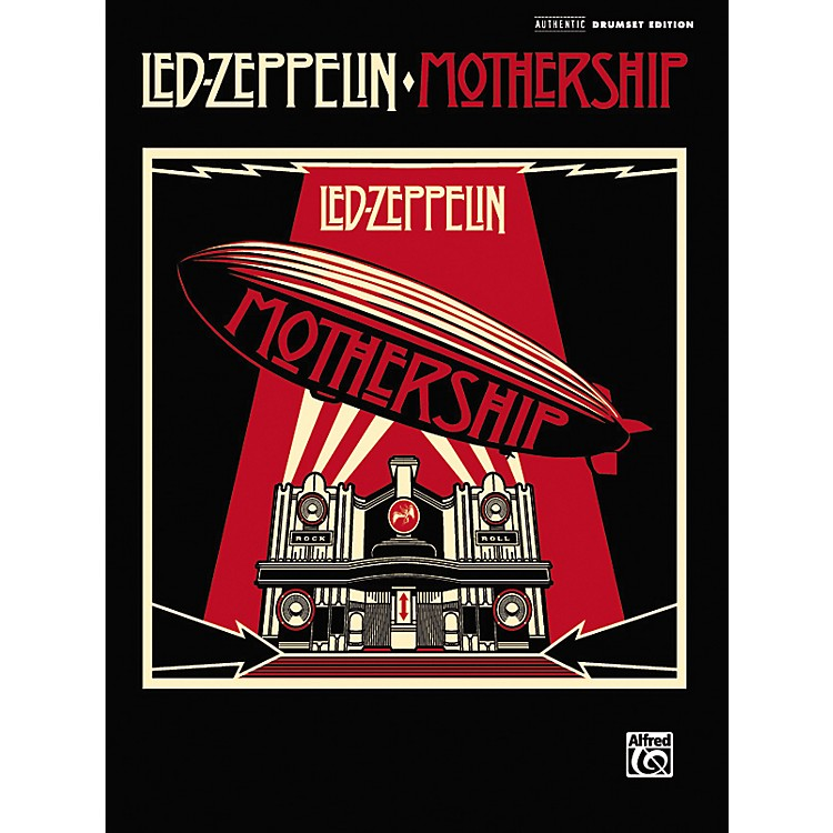 Alfred Led Zeppelin: Mothership - Drum Transcriptions (Book)