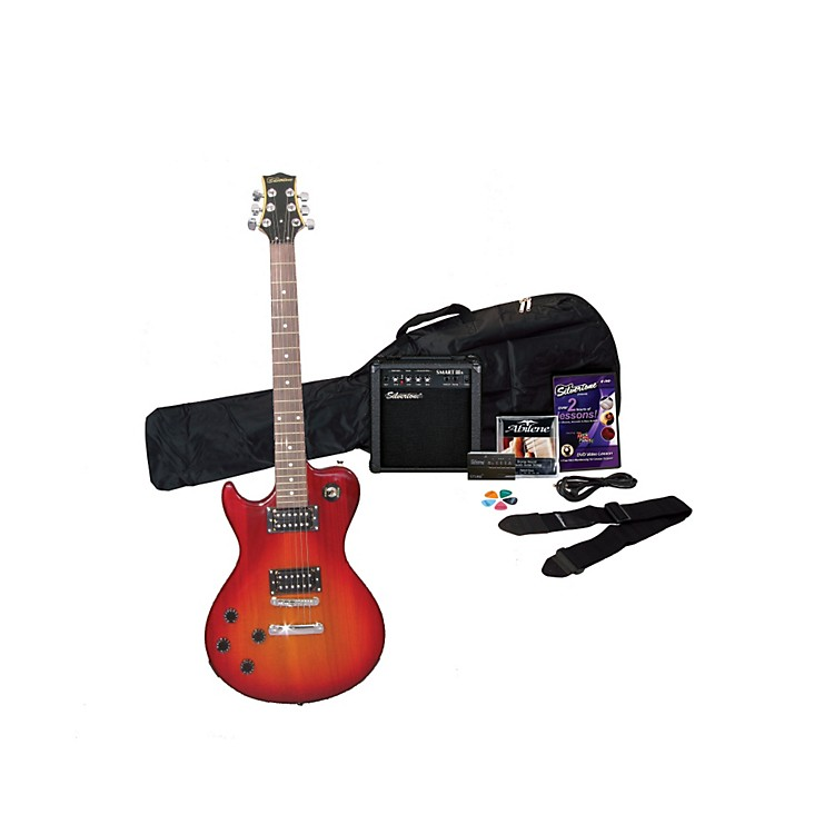Silvertone Left-Handed Electric Guitar Pack