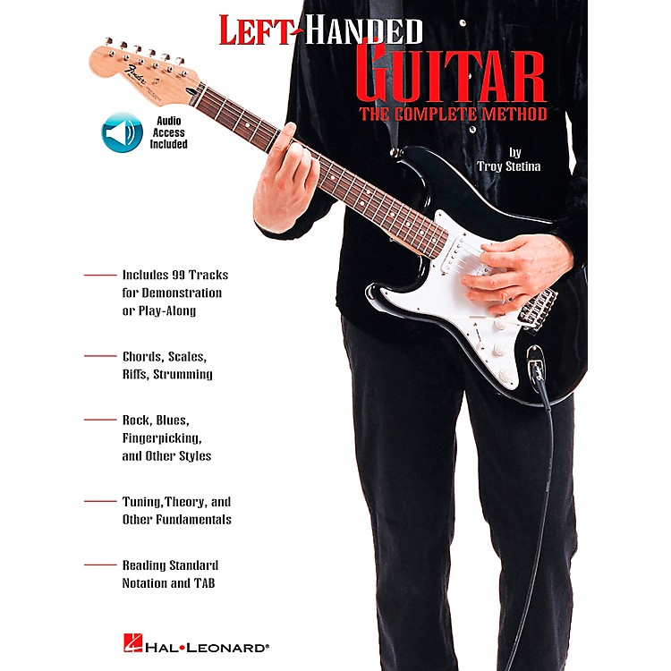 Hal Leonard Left-Handed Guitar Book/CD