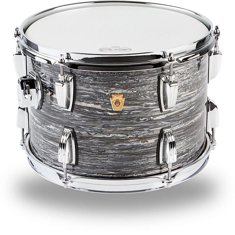 Ludwig Legacy Classic Liverpool 4 Tom 9x13 Black Oyster Pearl