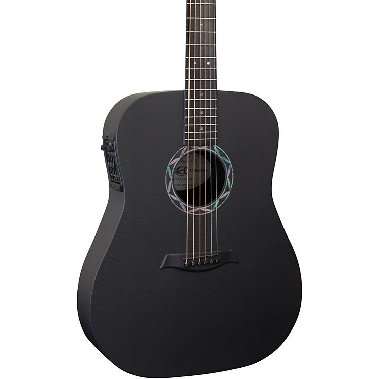 Composite Acoustics Legacy ELE Acoustic-Electric Guitar Raw Carbon Finish