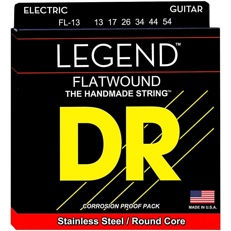 DR StringsLegend Medium Flatwound Electric Guitar Strings