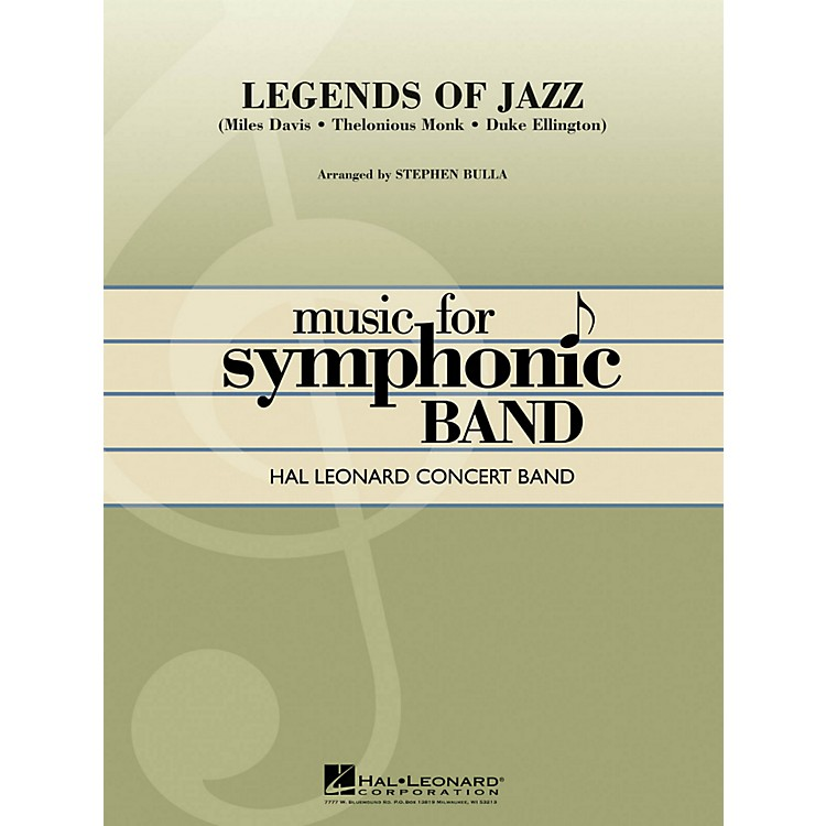 Hal Leonard Legends Of Jazz - Hal Leonard Concert Band Series Level 4