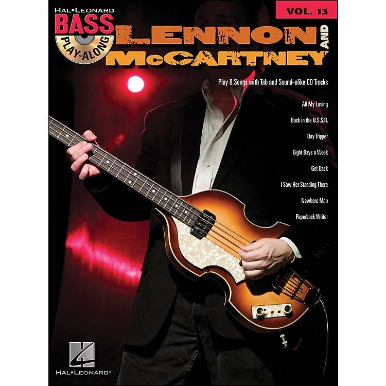 Hal LeonardLennon & McCartney - Bass Play-Along Volume 13